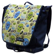 Image of Jansport Morning Breath Skulls Messenger Bag Artist Series