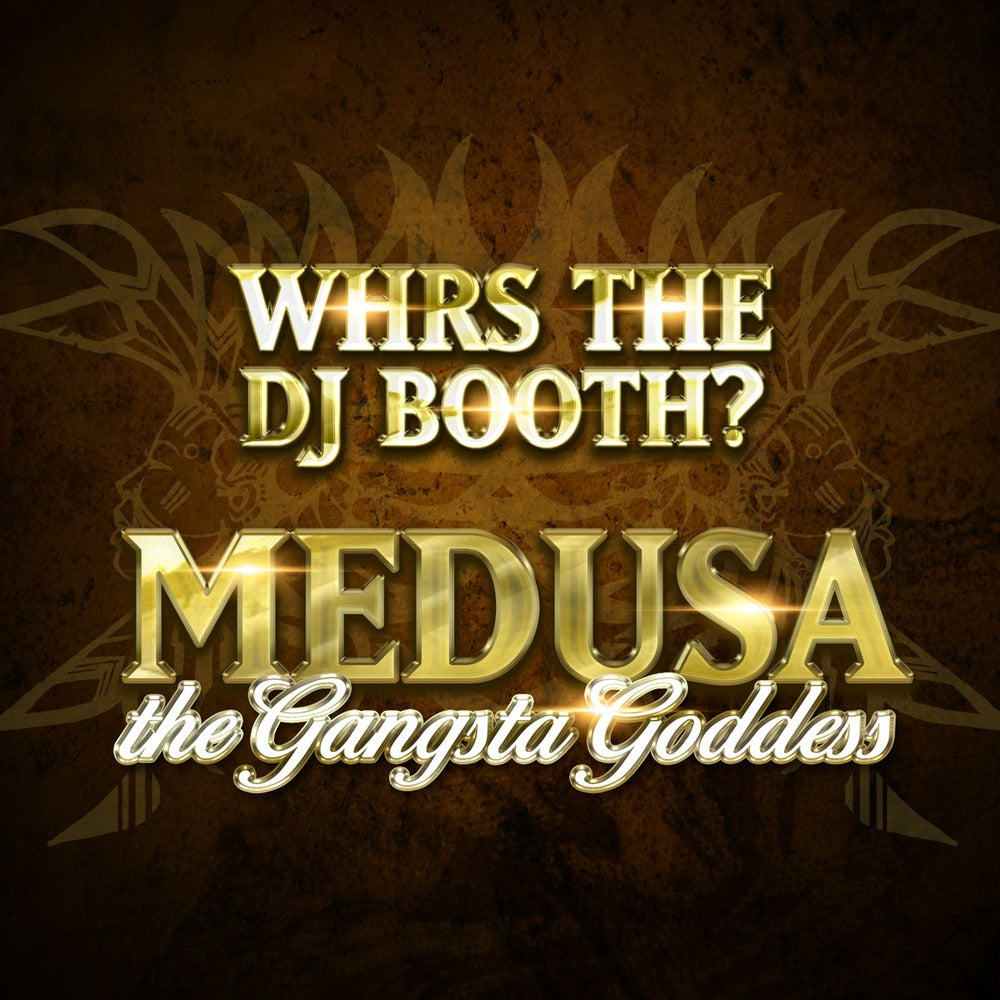 "Image of Medusa ""Whrs The Dj Booth?"" CD w Poster and sticker"