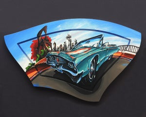 Image of 1968 Chrysler Newport Convertible 8x10 Photographic Print