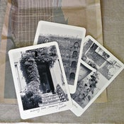 Image of Humphrey's New York postcard set. set of 3, encased in a map.