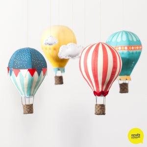 Image of Air Balloon Mobile Kit - Circus