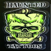 Image of Haunted 'Frank' Sticker