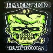 Image of Haunted 'Frank' Sticker