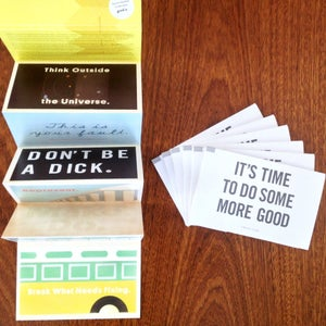 Image of GOOD Postcards - a perforated history of good