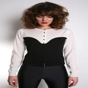 Image of 'Bustier' cardigan