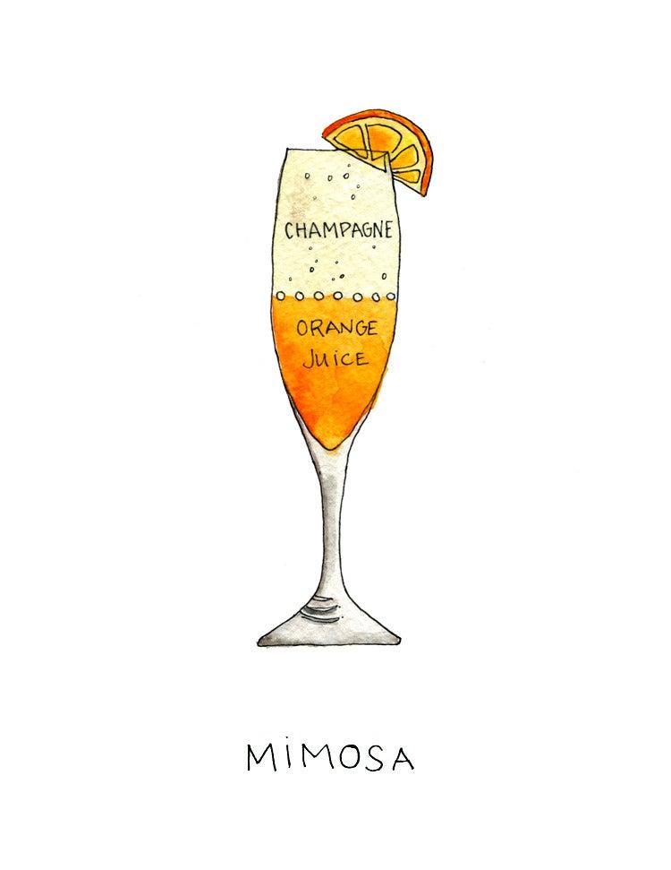 Image of Mimosa - Archival Art Print