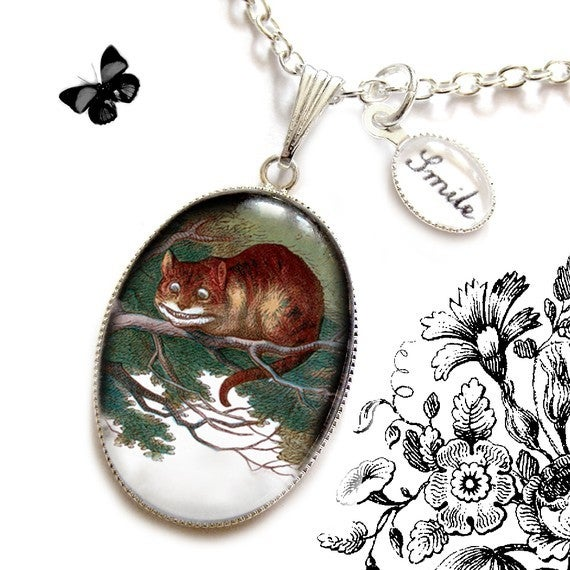 Image of Cheshire Cat Necklace
