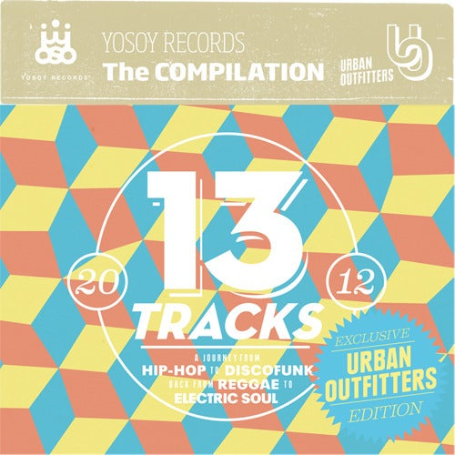 Image of YOSOY RECORDS - The Compilation (CD)