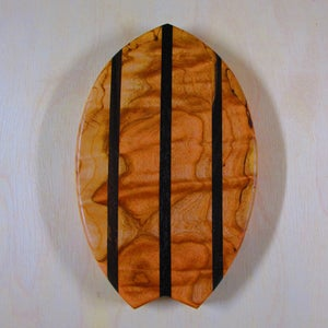 Image of Figured Maple/East Indian Rosewood Cutting Board