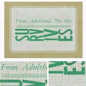 """Image of """"Adulthood"""" Letterpress Print"""