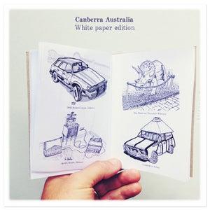 Image of Canberra Australia Zine