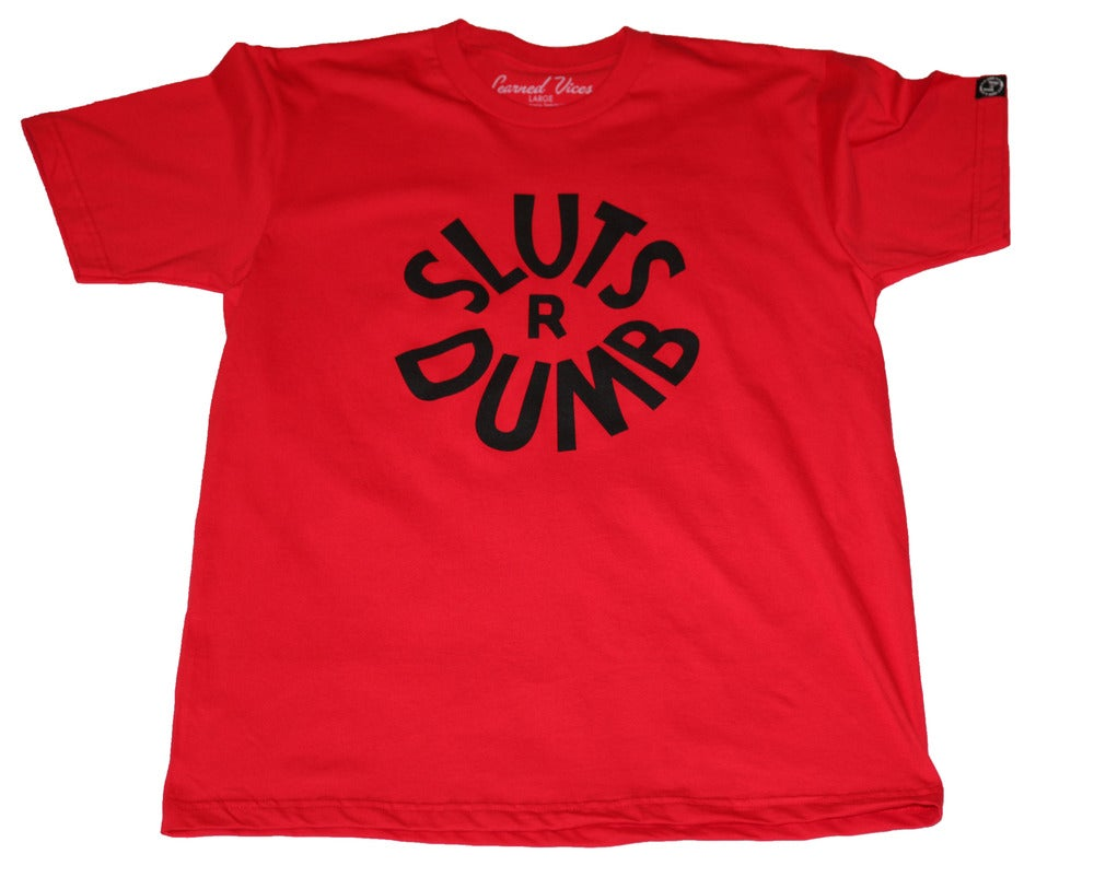 Image of S.R.D. Tee - RED
