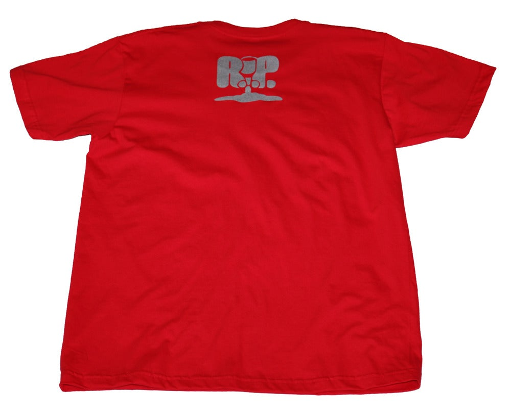 Image of GandHIGH Tee - RED