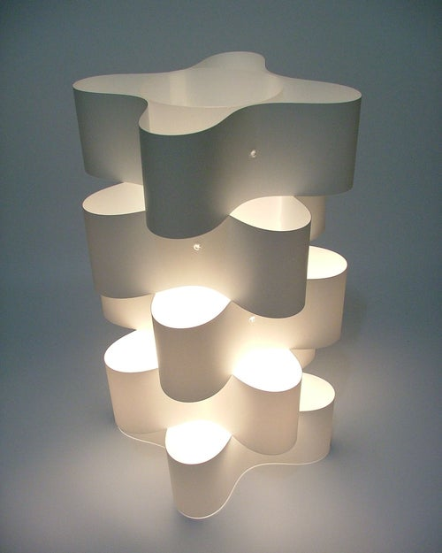 Image of The Orbit Table Lamp Vanilla