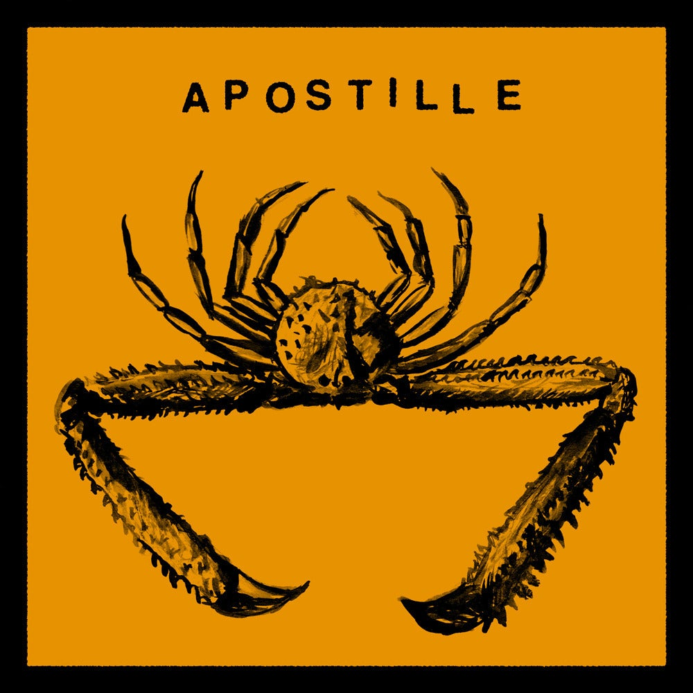 "Image of APOSTILLE - WRONG / THE ROAD TO WAR <br /> AA 7"" 45rpm single w/ download code"
