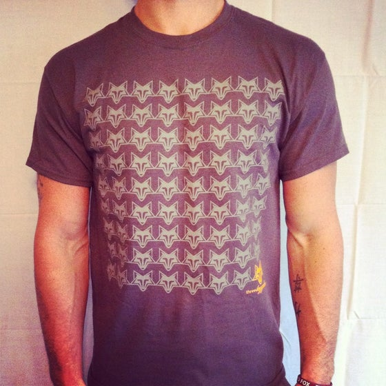 Image of CheckerBoard Fox T-Shirt