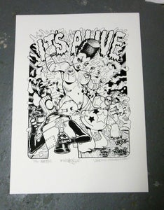 Image of It's Alive 2 Silkscreen Print