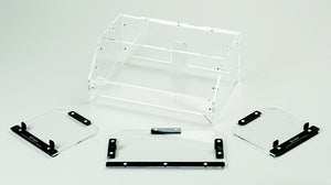 "Image of 6mm (1/4"") Acrylic Hood and Window Kit for MakerBot Replicator 3D Printer"