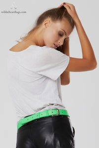 Image of Chewing Gum Bum Bag - Green