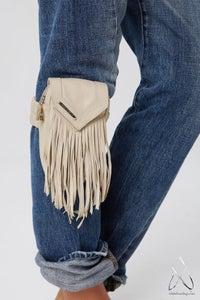 Image of Like a Feather Leg/Arm Bag- Cream