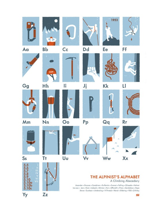 Image of The Alpinist's Alphabet
