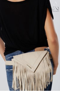Image of Like a Feather Belt Bag- Cream