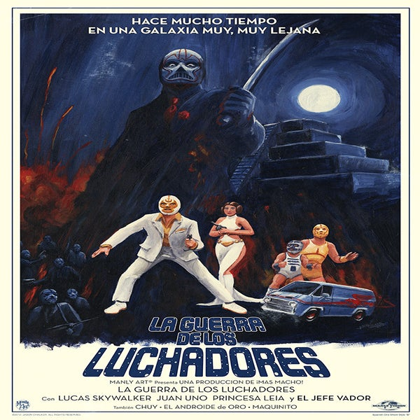 Image of La Guerra De Los Luchadores