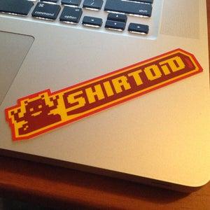 Image of Shirtoid sticker