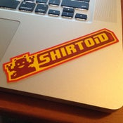 Image of Shirtoid sticker