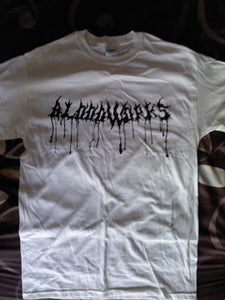 """Image of White """"Bloodworks"""" tee"""