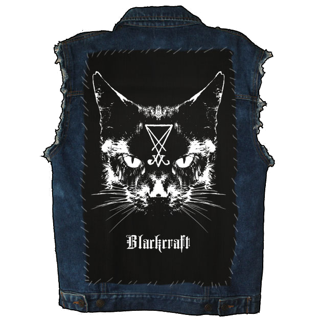 Image of Lucifer The Cat - Back Patch