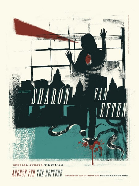 Image of Sharon Van Etten Poster
