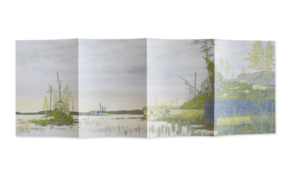 Image of 16 views from the far shore, looking east, Alex Lukas