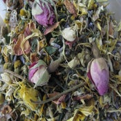 Image of Organic Herbal Bath roses lavender calendula camomile