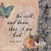 Image of Be Still Ps.18:10