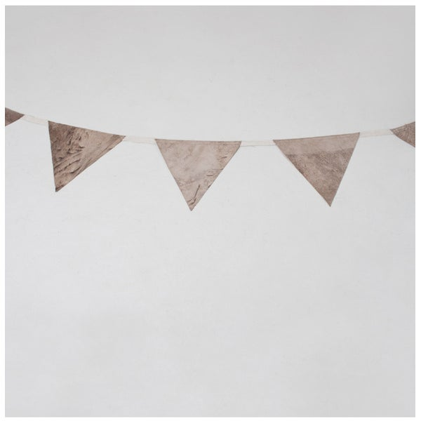 Image of Stone Washed Leather Bunting
