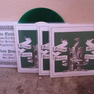 "Image of Fellow Project/Marine Electric Euro Tour Split 7"" GREEN Vinyl"