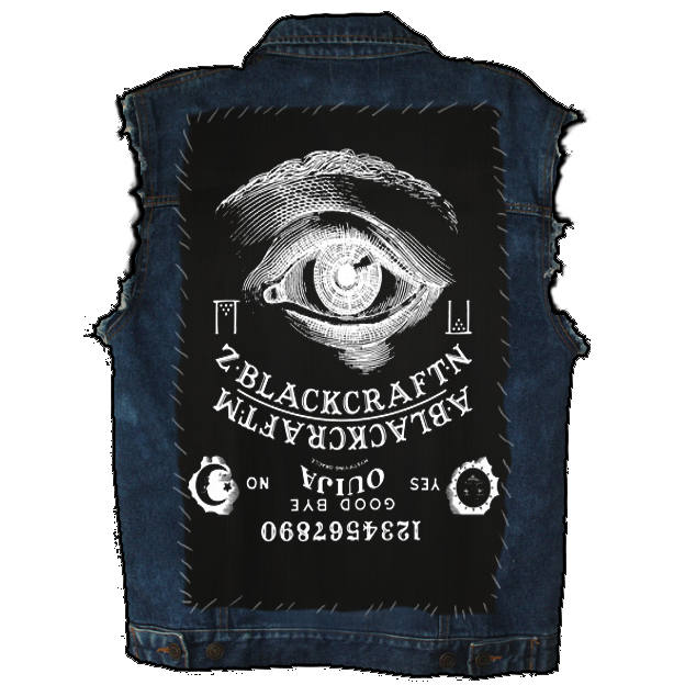 Image of Ouija - Back Patch