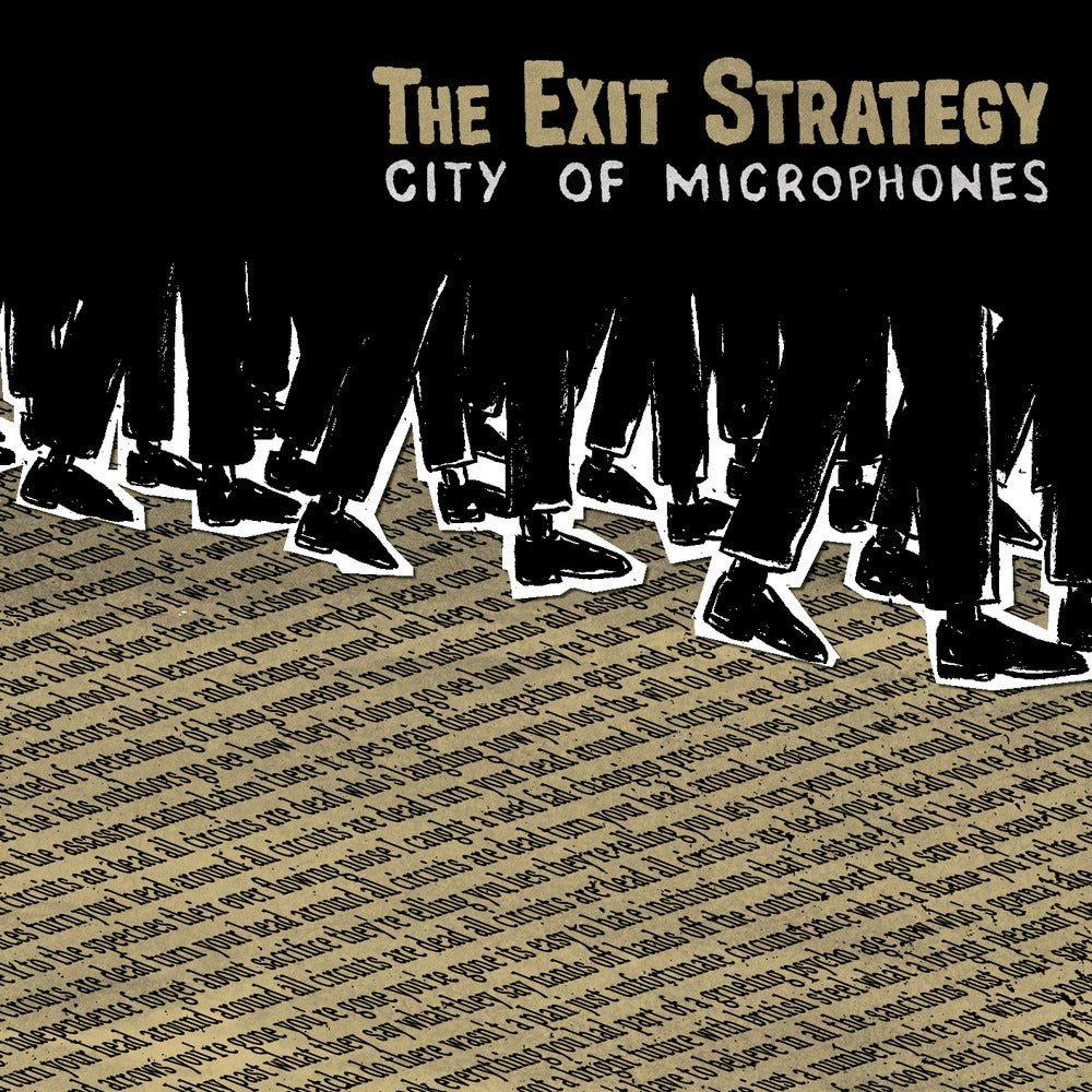 """Image of The Exit Strategy """"City of Microphones"""" CD"""