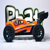 Image of Phat Bodies 'KABOOM' for Losi Mini-8ight, Carisma GT14B/GTB, Schumacher EMB-1