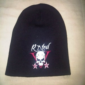 "Image of Velvet Sky ""Rated V"" Beanie"
