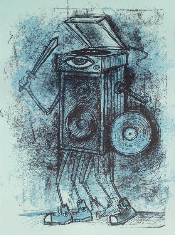 Image of Vinyl Warrior, Blue Edition