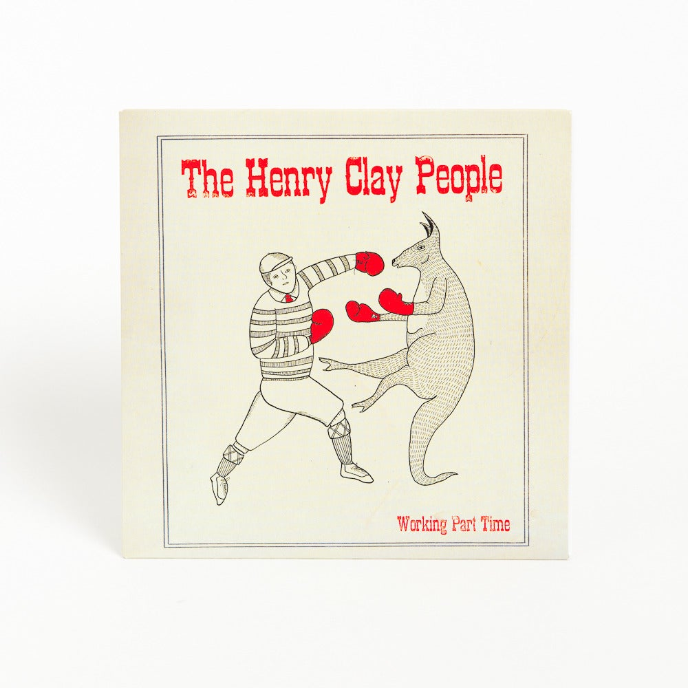 """Image of The Henry Clay People - """"Working Part Time"""" 7 Inch Vinyl Single"""