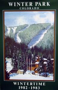 Image of 1982 - 1983 Winter Park Resort Vintage Poster