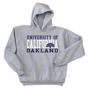Image of University of California, Oakland Hoodie (Grey/Navy)