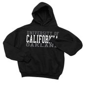Image of University of California, Oakland Hoodie (Black/Grey)