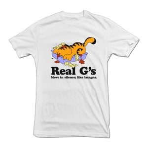 "Image of ""Real G's"" tee shirt - WHITE"