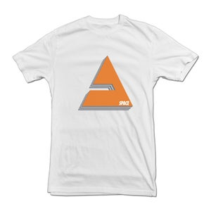 "Image of ""Shield"" tee shirt - WHITE"