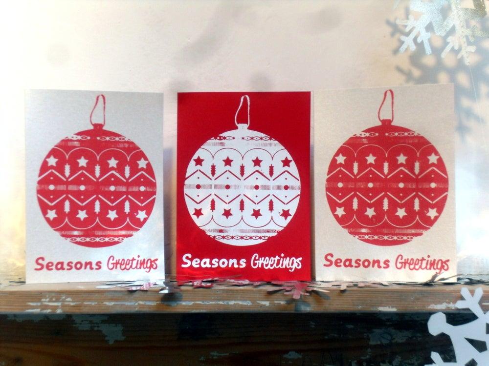 Image of Seasons Greetings (pack of 3)