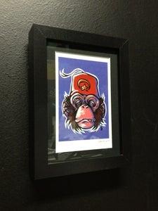 Image of Shriner Monkey - Framed Print
